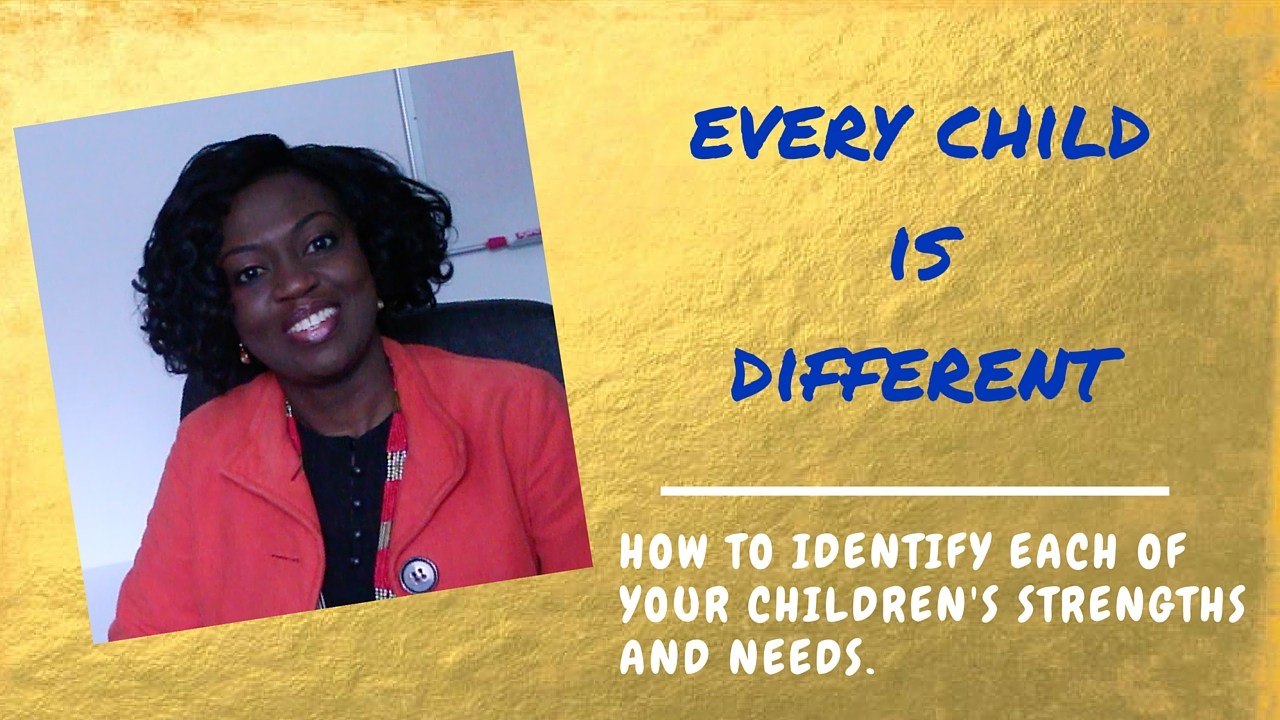 Every Child is Different: How I found this out the Hard Way and how I was still able to help my child.