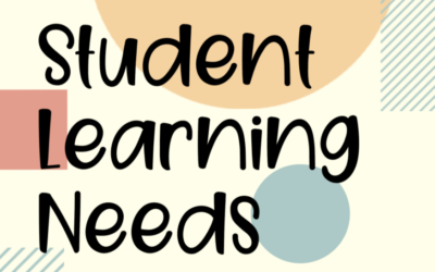 Student Learning Needs